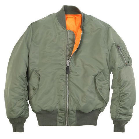 Alpha Industries MA-1 Flight Jacket in eight vibrant colors!