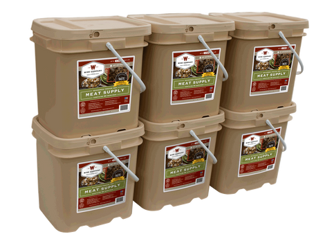 360 Serving Gourmet Freeze Dried Meat - Wise Company Food Supply