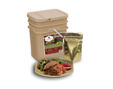60 Serving Gourmet Freeze Dried Meat - Wise Company Food Supply   (grab n' go bucket)