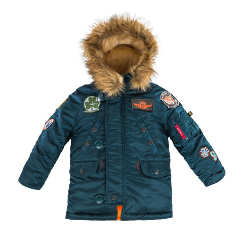 Alpha Industries Youth N-3B Maverick Parka (toddler, kids)