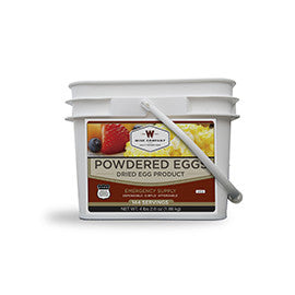 144 Servings of Wise Powdered Eggs -  Wise Company Food Supply (Grab n' Go Bucket)