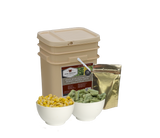 120 Servings Freeze Dried Vegetable & Sauces - Wise Company Food Supply   (grab n' go bucket)