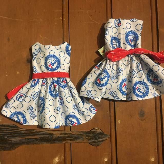 American Girl Doll Dress - 76ers