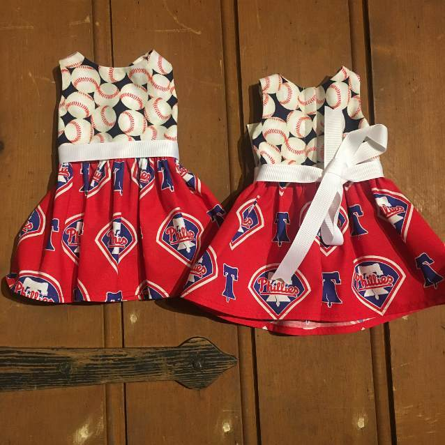 American Girl Doll Philadelphia Phillies Dress