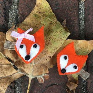 Fox Hair Clips