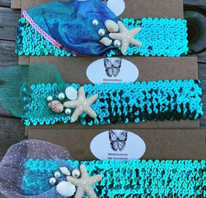 Mermaid Headbands Headbands - Villavillekula, llc - Philadelphia, PA