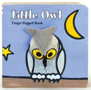 Little Owl Finger Puppet Board Book  - Villavillekula, llc - Philadelphia, PA