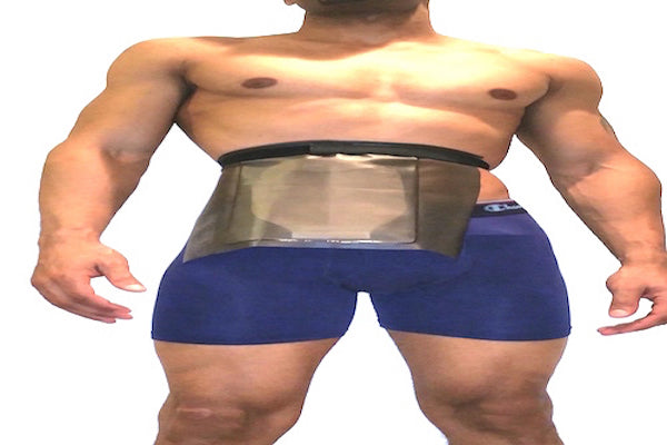 Ostomy Bag Cover & Open Wound Shower Guard