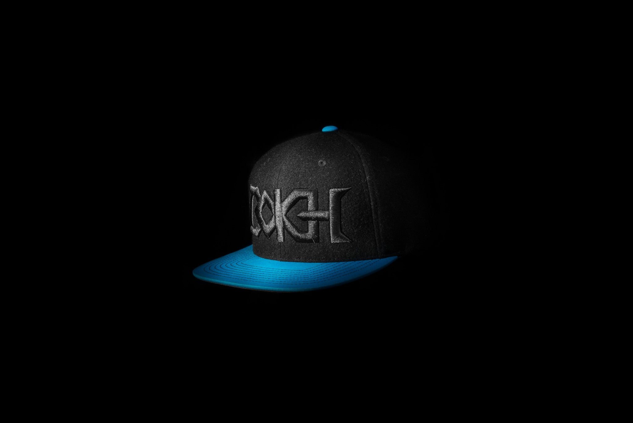 Bokeh = Metal 2 (Black & Blue)