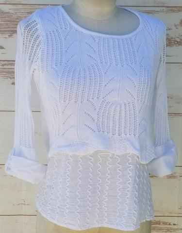 """Venice"" White blouse"