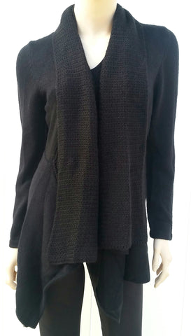 """Alyssa"" Draping Sweater"