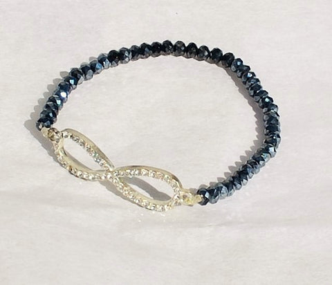 Bracelet Swarovski Crystal and Cubic Zirconia