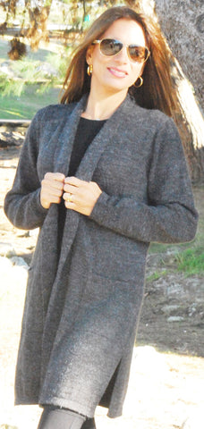 Gabrielle Sweater coat with pockets