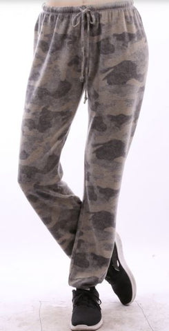 Camo Pants Olive and Gray