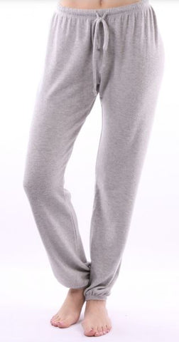 Solid Light Gray Pants