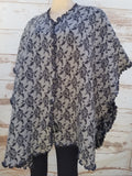 """Chantal"" Short Cape"