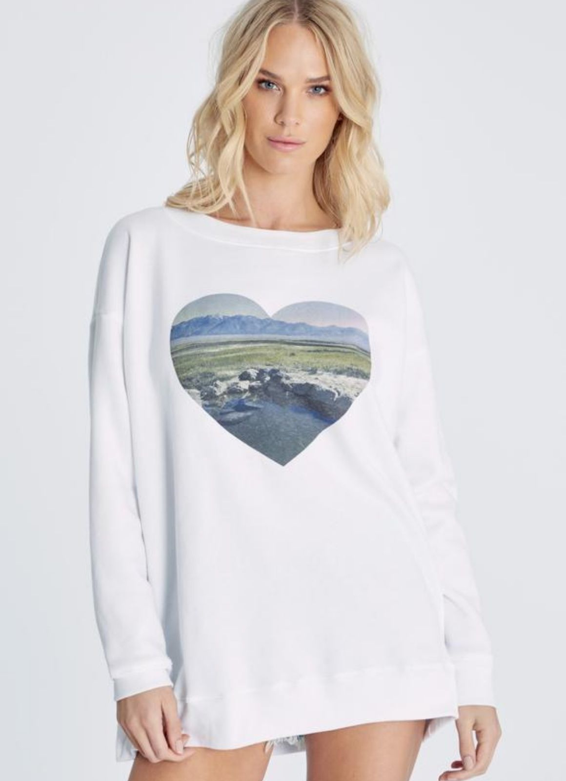 Wildfox - Heart Roadtrip Sweatshirt