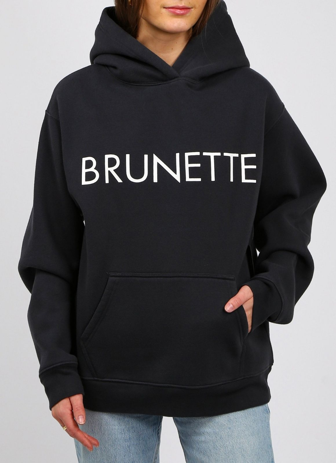 """Brunette The Label - """"Brunette"""" Classic Hoodie 