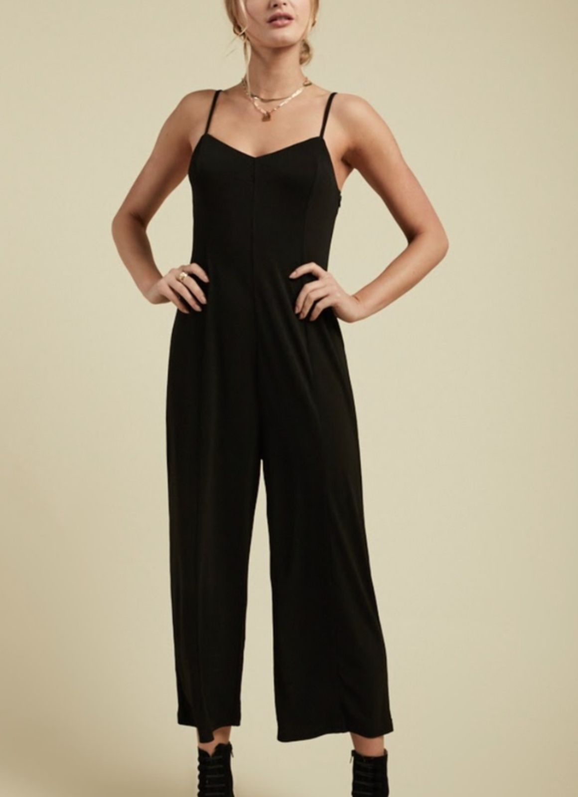 Sage the Label Camden Wide Leg Jumpsuit