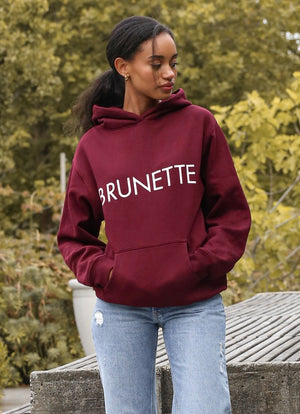 "Brunette The Label - ""Brunette"" Classic Hoodie 