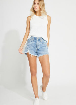Gentle Fawn - Tanya Tank Knit Cotton White