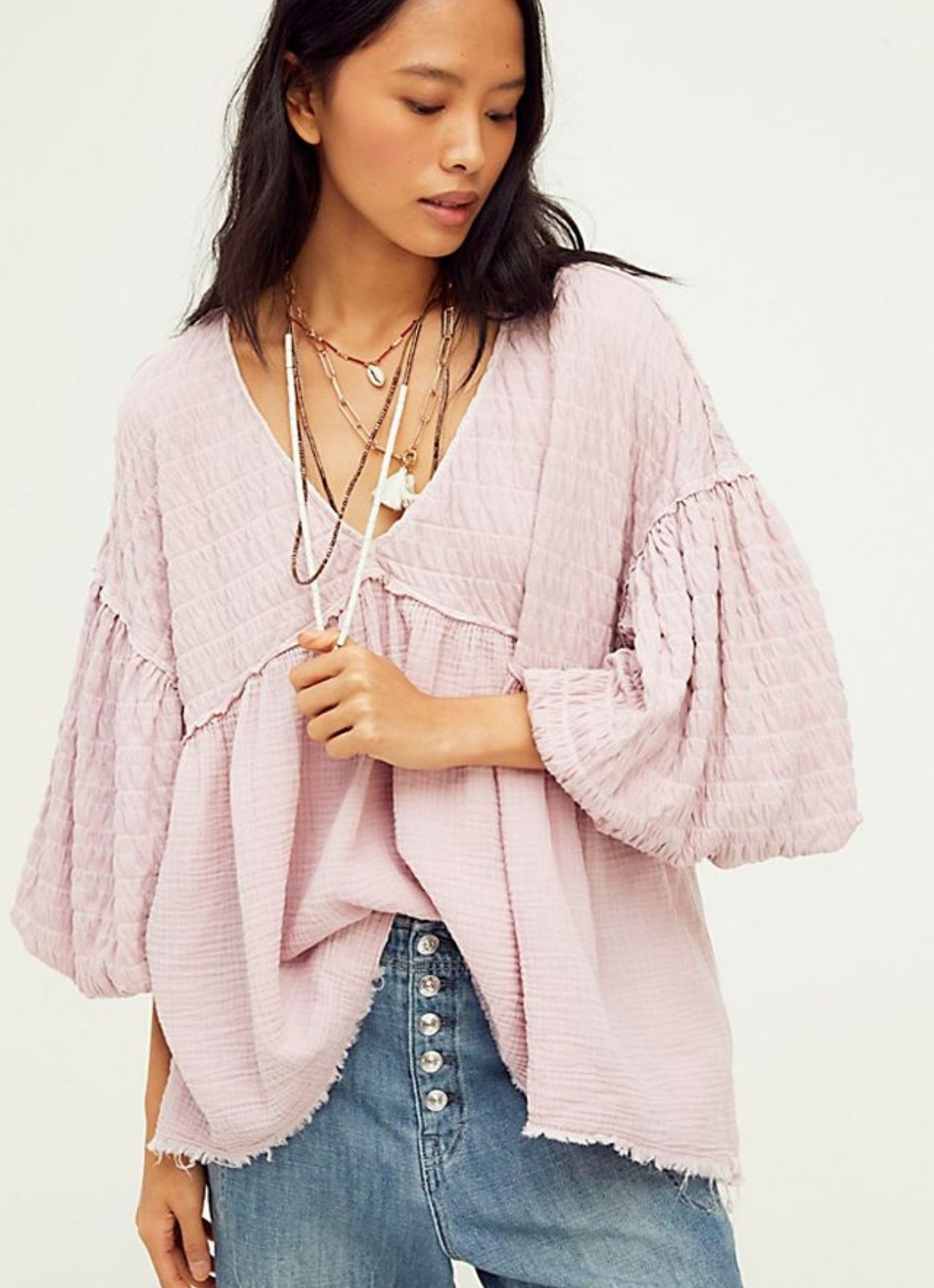 Free People - Flower Power Top
