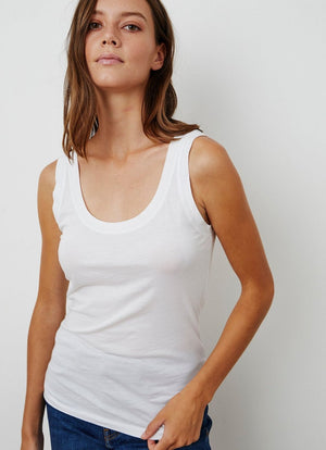 Velvet - Mossy Whisper Scoop Tank