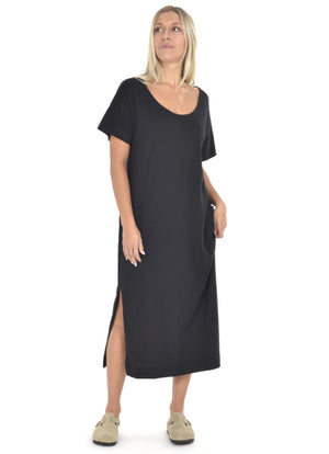 Paper Label - Gemma Tee Dress Black