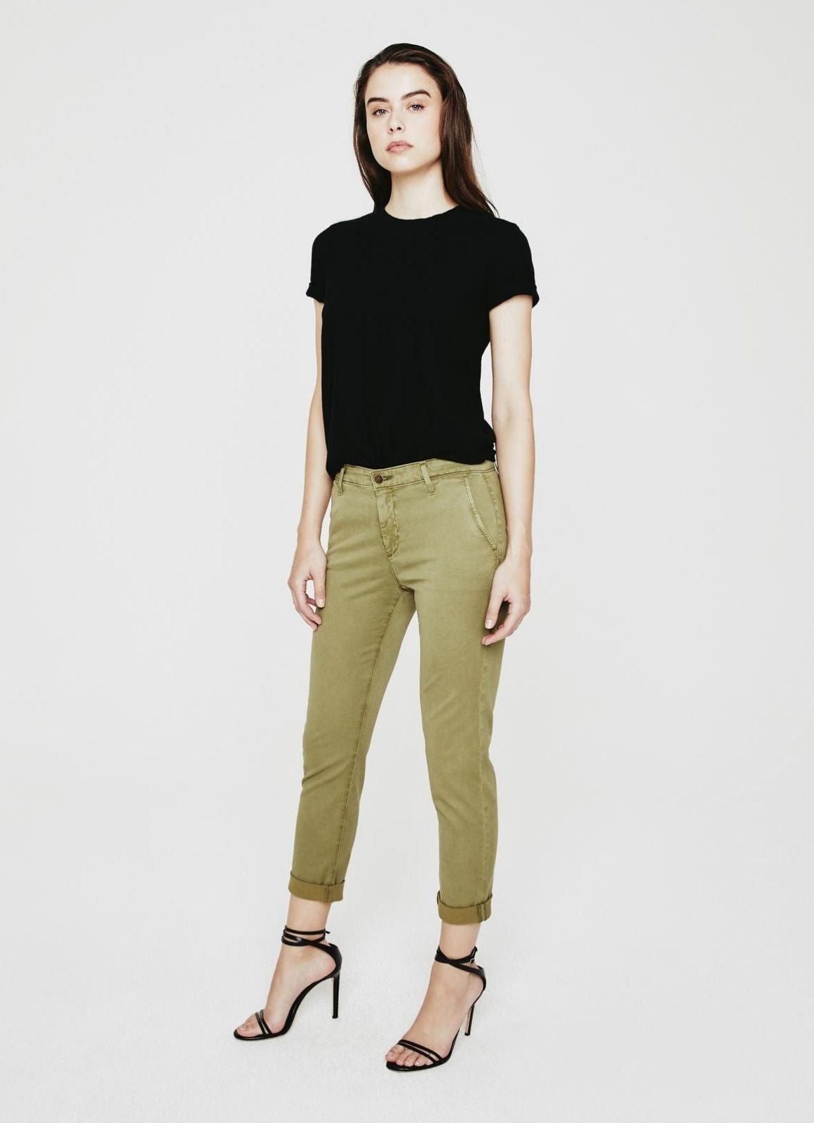 AG - The Caden Trousers, Sulfur Green Haven