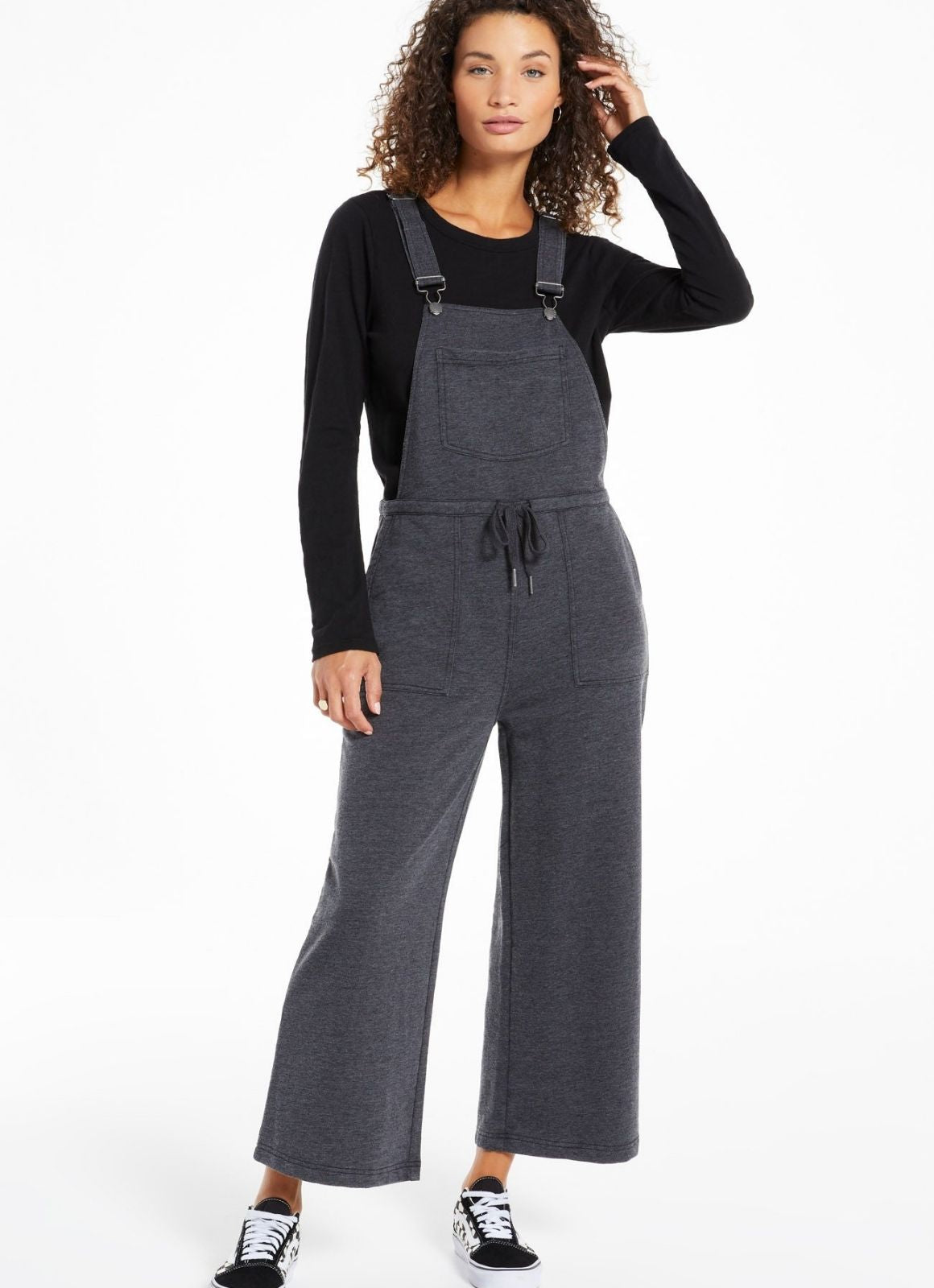 Z Supply - Cinched Waist Overalls