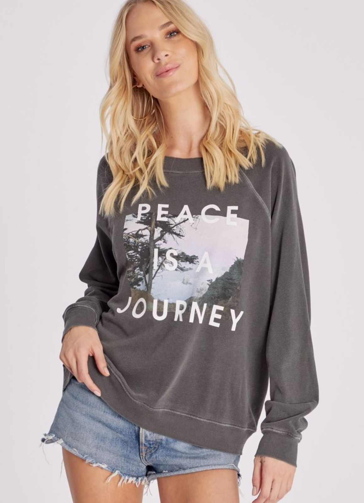 Wildfox Peace is a Journey Sommers Sweatshirt