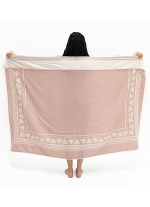 Tofino Towel - The Frontier Throw Rosewood