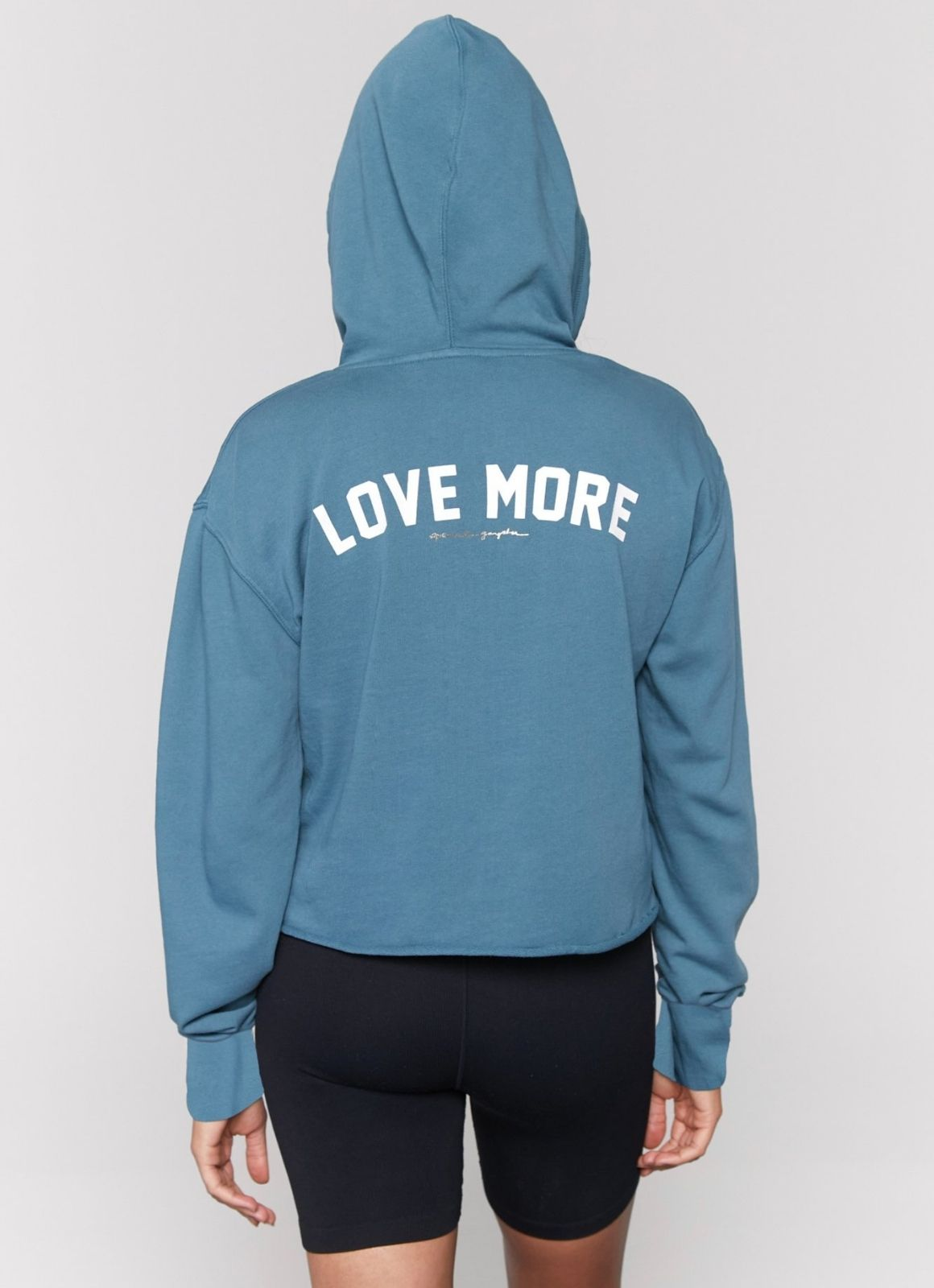 Spiritual Gangster - Love More Serena Crop Hoodie