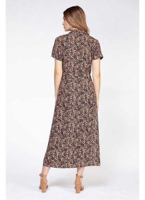 Dex - Button Front Maxi Dress