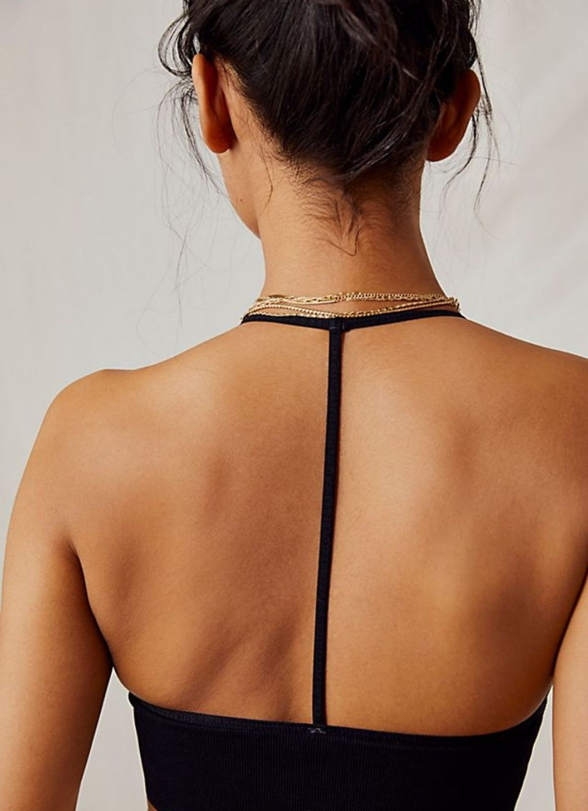 Free People - Scoop Me Up Racerback Bra Black