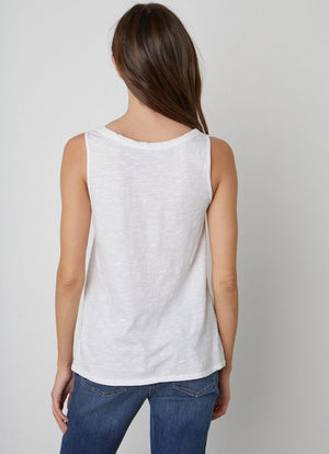 Velvet - Joy Slub Scoop Neck Tank