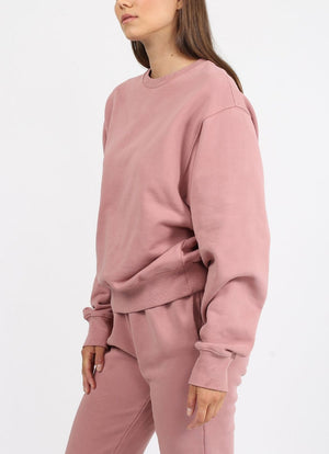 Brunette The Label - Best Friend Crew VINTAGE ROSE
