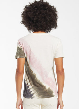 Z Supply - Easy Stripe Tie Dye Tee