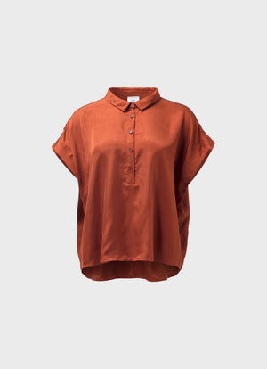 Elk the Label Abeline Top Copper
