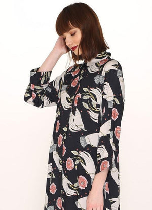 PepaLoves - Hands Print Buttoned Dress