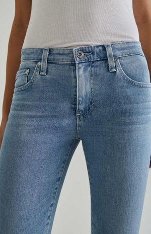 AG Jeans Women's Prima Crop Denim Light Blue 26 Years Skylight