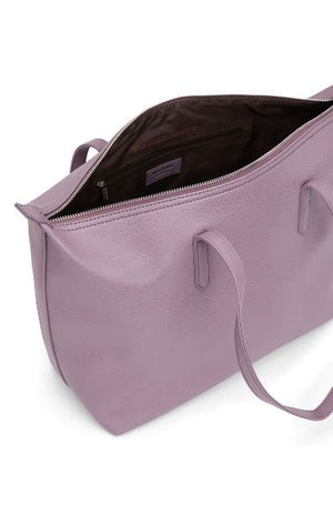 Abbi Vegan Tote Bag Amethyst Purple Matt and Nat