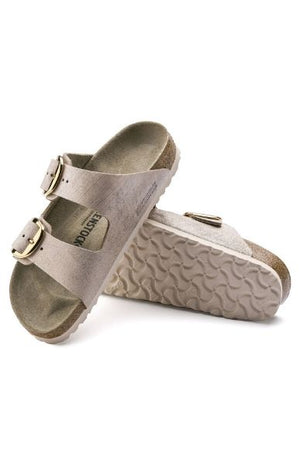 Birkenstock - Arizona Big Buckle Washed Metallic Rose Gold