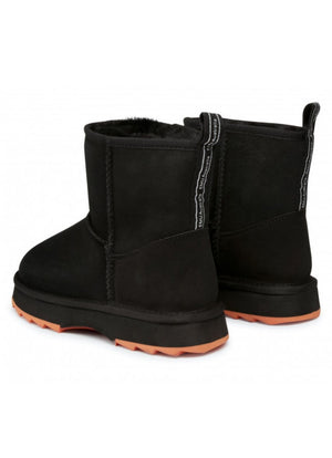 EMU AUSTRALIA SHARKY MINI SHEEPSKIN BOOT BLACK