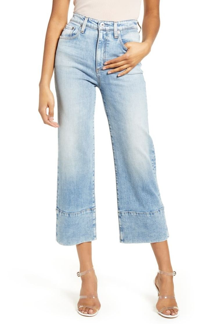 AG - Etta High Waist Crop Jean