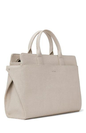 Matt & Nat Women's Gloria Vegan Satchel Koala Matte Nickel