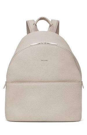 Matt & Nat Women's July Vegan Backpack Koala Matte Nickel