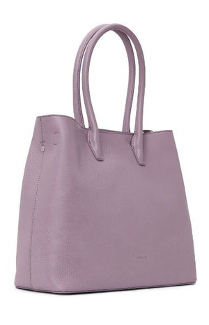 Women's Krista Vegan Satchel Amethyst Purple Matt and Nat
