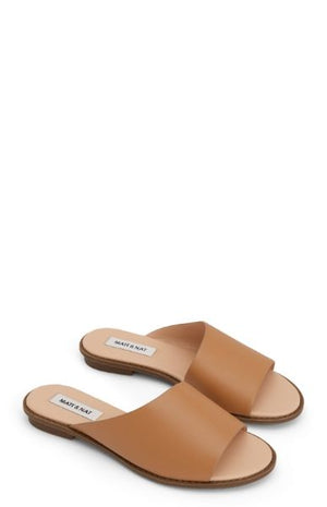 Women's Lunna Vegan Sandals, Nude, Matt & Nat