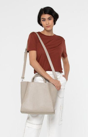 Matt and Nat Loyal Vegan Women's Tote Bag With Strap Beige